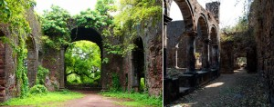 Inside of Bassein Fort