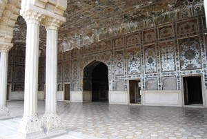 Inside of Lahore Fort
