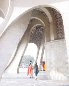 Inside of Minar-e-Pakistan
