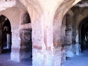 Inside of Nur Jahan Tomb