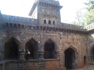 Inside of Panhala Fort