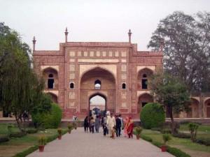 Jahangir Tomb Entrance