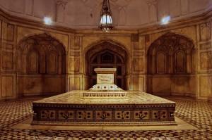 Jahangir Tomb Inside