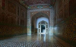Jahangir Tomb Interior