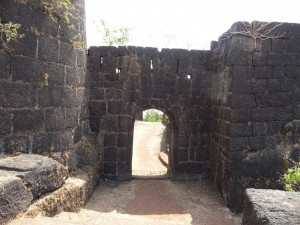 Jaigad Fort Entrance