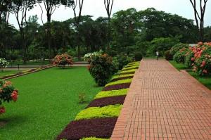 Jatiyo Smriti Soudho Garden