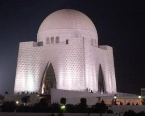Jinnah Mausoleum at Night
