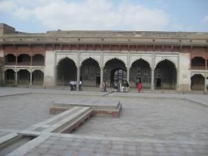 Lahore Fort Inside