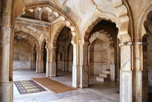Lahore Fort Moti Masjid Inside