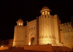 Lahore Fort Night View