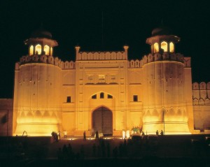 Lahore Fort at Night View