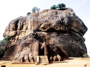 Lion Mouth Entrance of Sigiriya Rock Fort