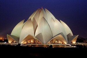 Lotus Temple Night