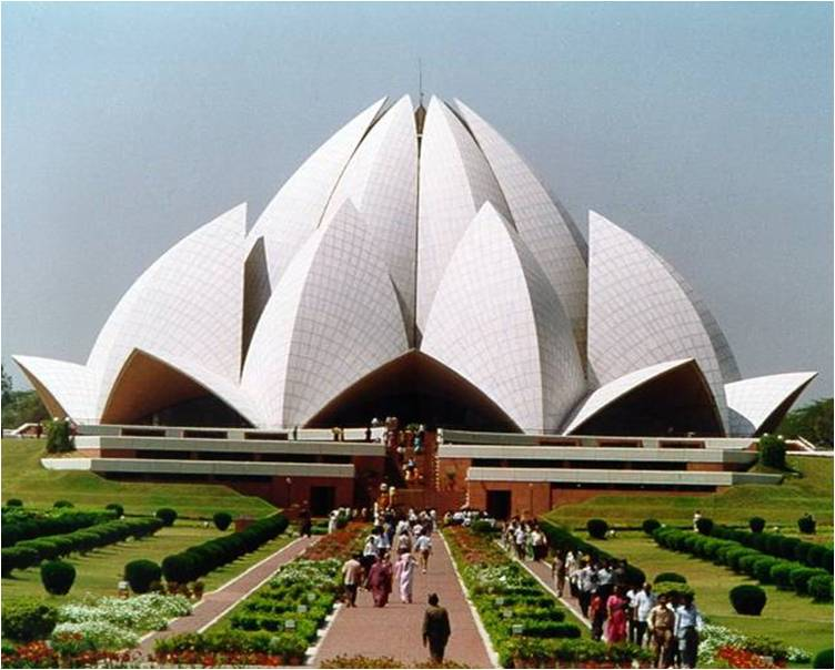 Lotus temple historical facts and pictures the history hub for The lotus temple