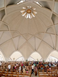 Lotus Temple Top Inside