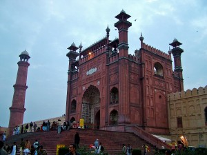 Main Entrance of Badshahi Mosque