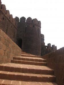 Mirjan Fort Entrance