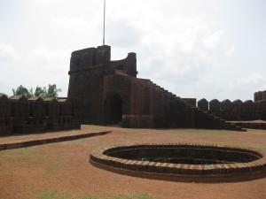 Mirjan Fort Inside Watch Tower