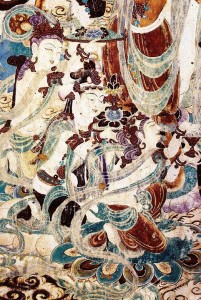 Mogao Caves Inside Painting