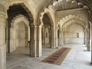 Moti Masjid Interior Lahore Fort