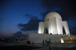Night View Jinnah Mausoleum