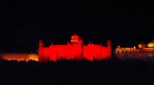Night View Lalbagh Fort