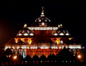 Night View of Akshardham