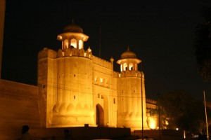 Night View of Lahore Fort