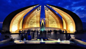 Night View of Pakistan National Monument