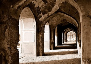 Nur Jahan Tomb Inside Corridor