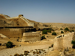 Outside Ranikot Fort