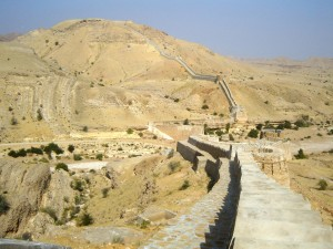 Ranikot Fort Entrance Way