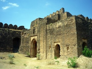 Rohtas Fort Inside