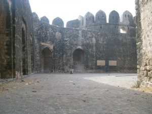 Rohtas Fort Inside View