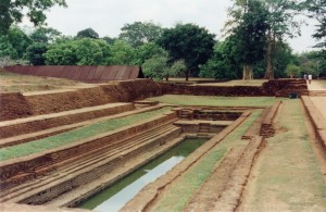 Sigiriya Gardens in the Fort