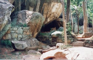 Sigiriya Monks Cell Inside the Fort