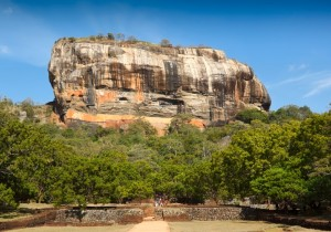 Sigiriya Rock Fort Images