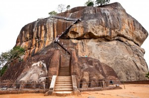 Sigiriya Rock Fort Lion Mouth Entrance