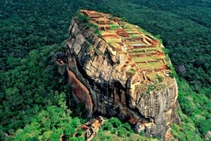 Sigiriya Rock Fort Photos