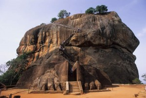 Sigiriya Rock Fort Pictures