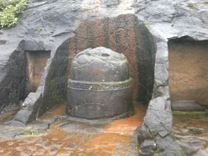 Stupa Outside the Bedse Caves