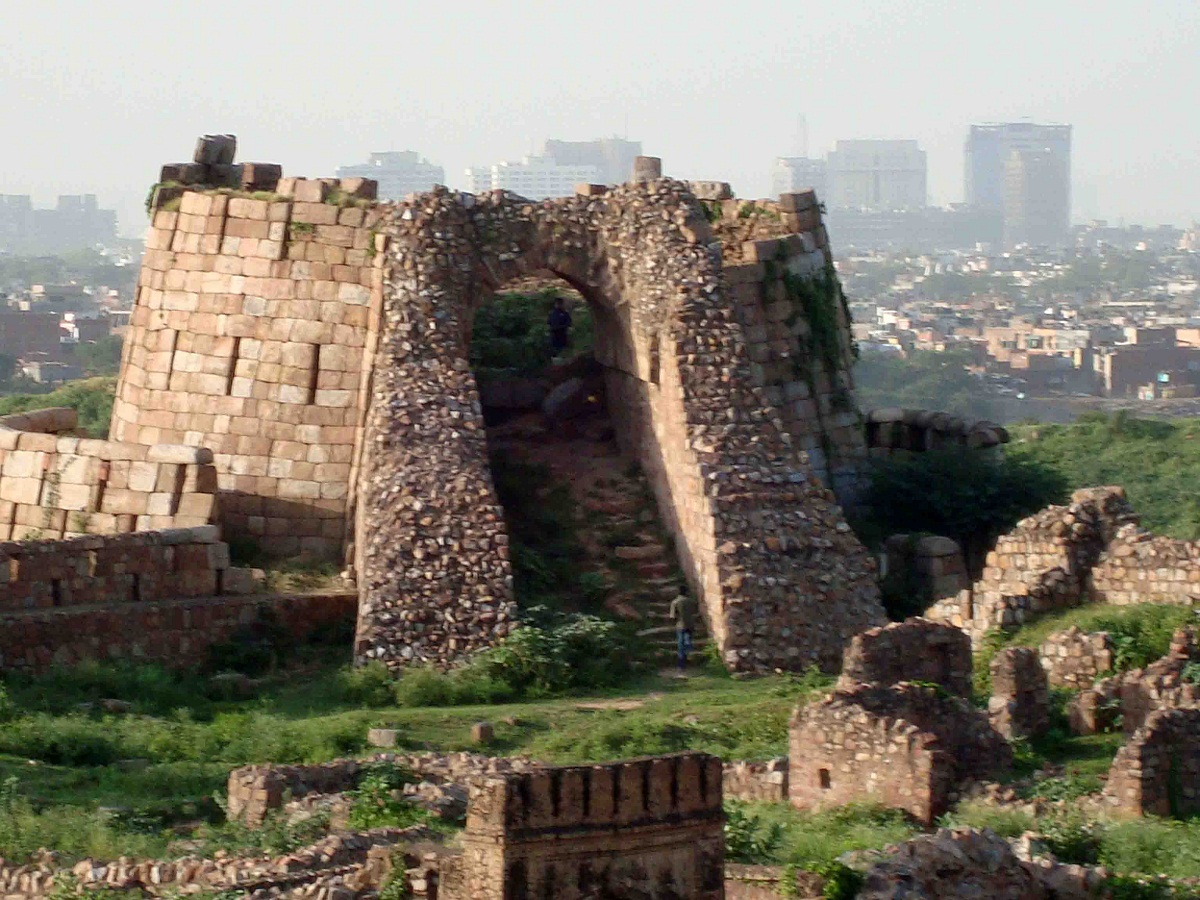 Indian Home Plan Tughlaqabad Fort Historical Facts And Pictures The