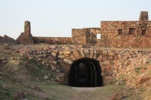 Tughlaqabad Fort Underground Inside