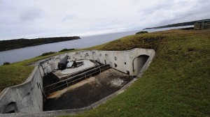 Bare Island Fort Inside View