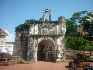 Entrance of Porta de Santiago