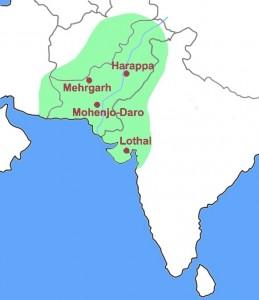 Mohenjo Daro Map