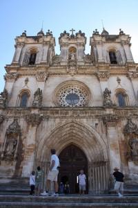 Alcobaca Monastery Entrance