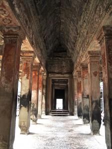 Angkor Wat Inside Corridoor
