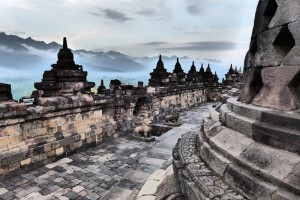 Borobudur Temple Inside View