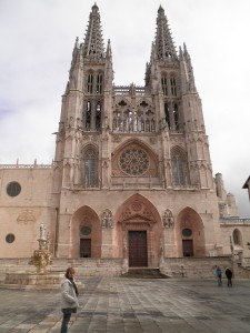 Burgos Cathedral Entrance